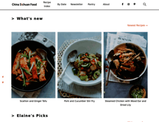 chinasichuanfood.com screenshot