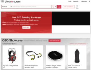 chinasources.com screenshot