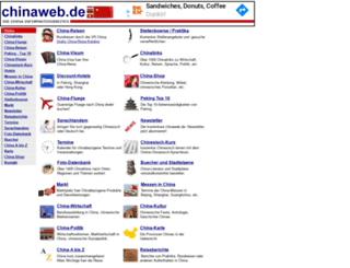 chinaweb.de screenshot
