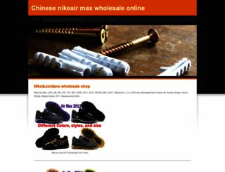 chinawholesalenikeairmax.weebly.com screenshot
