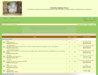 chinchilla-liebhaber-forum.phpbb8.de screenshot