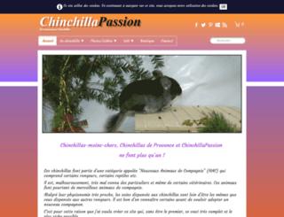 chinchillas-provence.fr screenshot