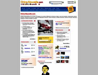 chine-nouvelle.com screenshot