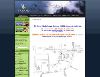chinese.cacare.com screenshot