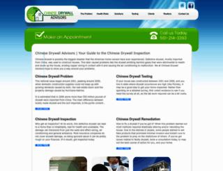 chinesedrywalladvisors.com screenshot