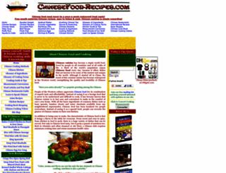 chinesefood-recipes.com screenshot