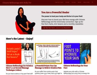 chinesefootreflexology.com screenshot