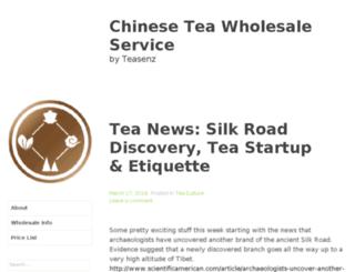 chineseteas.co screenshot