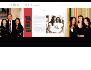 chinheesunheepark.com screenshot