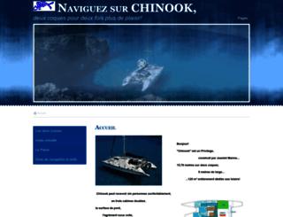 chinook.e-monsite.com screenshot