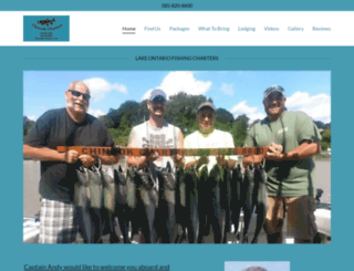 chinookfishingcharters.com screenshot