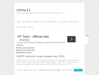 chinu11.in screenshot