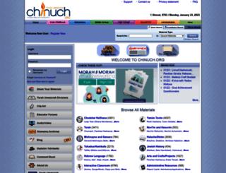 chinuch.com screenshot