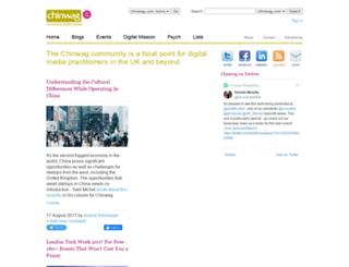 chinwag.co.uk screenshot