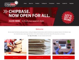 chipbase.co.za screenshot