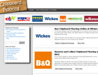 chipboardflooring.com screenshot