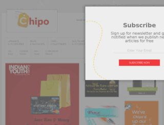 chipo.in screenshot