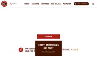chipolte.com screenshot