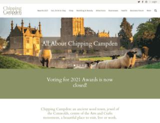 chippingcampden.com screenshot