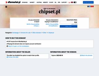 chipset.pl screenshot