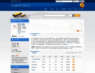chipstech.dzsc.com screenshot