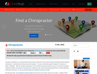 chirohub.com screenshot