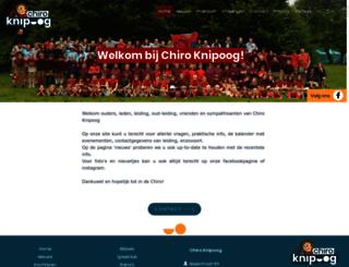 chiroknipoog.be screenshot