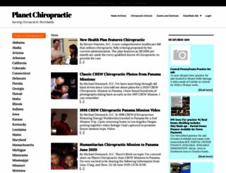 chiropracticfaq.com screenshot