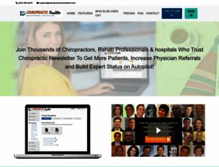 chiropracticnewsletter.com screenshot