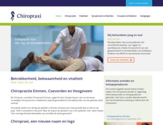 chiropractie-emmen.nl screenshot