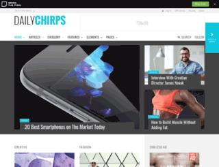 chirps.bringthepixel.com screenshot