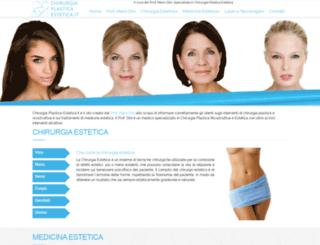 chirurgia-plastica-estetica.it screenshot
