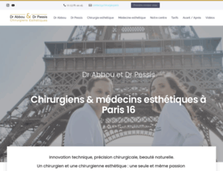 chirurgie-esthetique.org screenshot