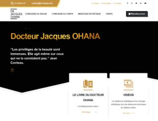 chirurgieesthetique-ohana.com screenshot