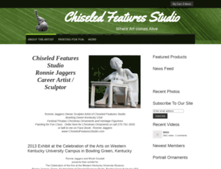 chiseledfeaturesstudio.com screenshot