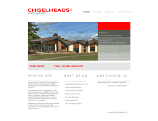 chiselheads.com screenshot