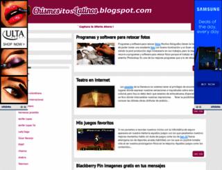 chismesitoslatinos.blogspot.com screenshot