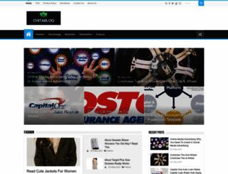 chitablog.com screenshot
