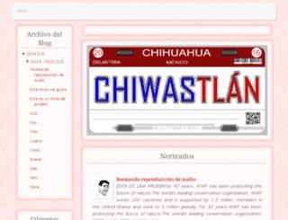 chiwastlan.mx screenshot