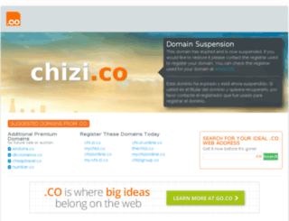 chizi.co screenshot