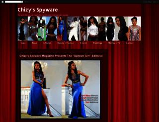 chizys-spyware.blogspot.com screenshot