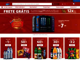 chk.deliveryextra.com.br screenshot