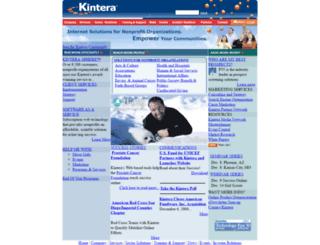 chla.kintera.org screenshot