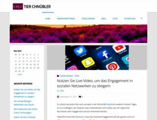 chliitierchnuebler.ch screenshot