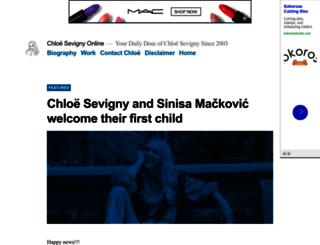 chloe-sevigny.org screenshot