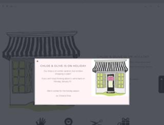 chloeandolive.com screenshot