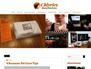 chlyrics.net screenshot