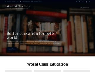 chm.lmu.edu.ng screenshot
