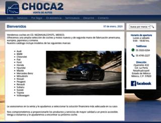 choca2.com.mx screenshot