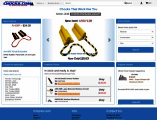 chocks.com screenshot